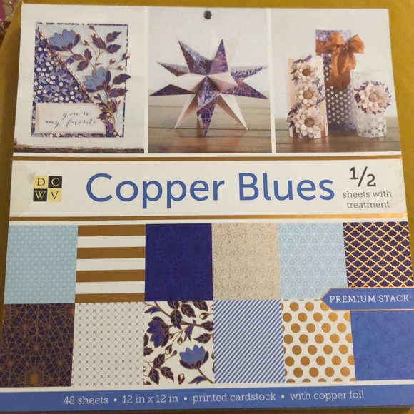 DCWV Other - NWT. Copper Blues Premium Cardstock Stack